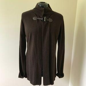 Long Brown Sweater
